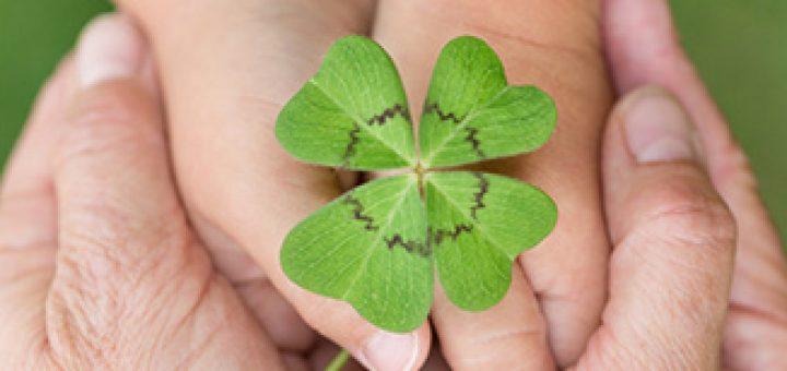 Glück mit Pflegevertag