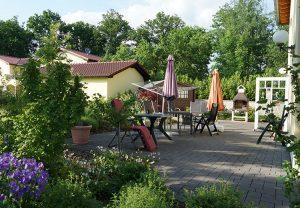 Außenanlage Haus Glockenspitze